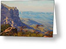 The Landslide Katoomba Greeting Card