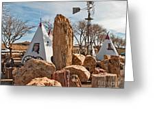 The Largest Petrified Wood Greeting Card