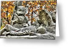 The Last Full Measure - Gettysburg National Military Park Autumn Greeting Card