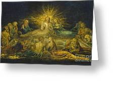 The Last Supper Greeting Card by William Blake
