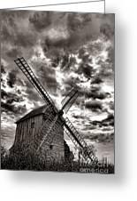 The Last Windmill Greeting Card