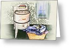 The Laundry Room Greeting Card