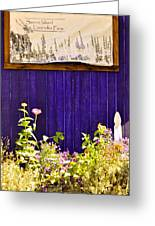 The Lavender Greeting Card