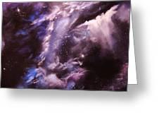 The Lazuras Nebula Greeting Card