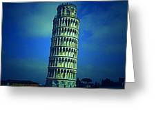 The Leaning Tower Of Pisa Italy Greeting Card