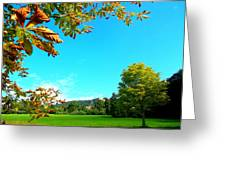 The Leaves Are Turning Golden... Greeting Card