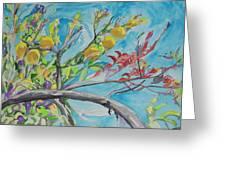 The Lemon Tree Greeting Card