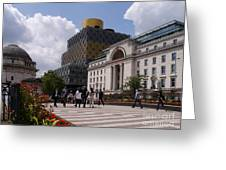 The Library Of Birmingham Greeting Card