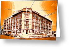 The Life Saver Building Greeting Card