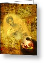 The Light Inside The Dead Greeting Card