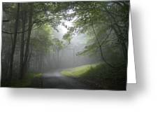 The Light Leading Home  Greeting Card