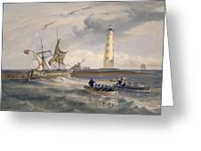 The Lighthouse At Cape Chersonese Greeting Card