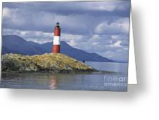 The Lighthouse At The End Of The World Greeting Card