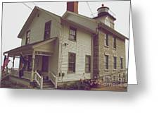 The Lighthouse Museum Greeting Card