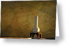 The Lighthouse - Port Washington Greeting Card