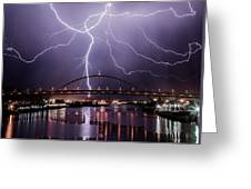The Lightning Greeting Card