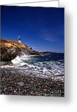 The Ligthouse At West Quoddy Greeting Card