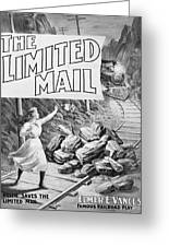 The Limited Mail, 1899 Greeting Card