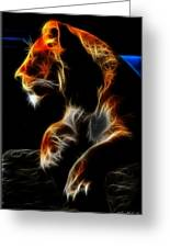 The Lioness Alt Greeting Card
