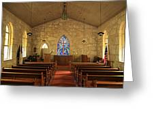 The Little Church Of La Villita Greeting Card