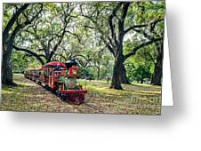The Little Engine That Could - City Park New Orleans Greeting Card