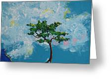 The Little Grove - Little Tree Greeting Card