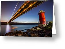 The Little Red Lighthouse Greeting Card