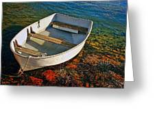 The Little Rowboat Greeting Card