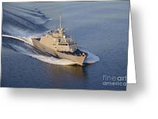The Littoral Combat Ship Greeting Card