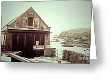 The Lizard Lifeboat Station Polpeor Cove Greeting Card