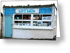 The Lizard Point Gift Shop  Greeting Card