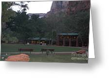 The Lodge At Zion National Park Greeting Card