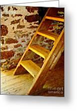 The Loft Steps Greeting Card