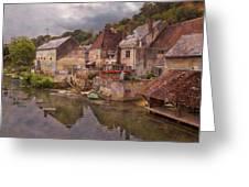 The Loir River Greeting Card