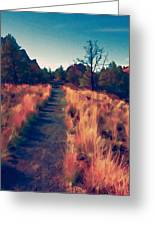 The Long Path Greeting Card