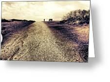 The Long Walk Home Greeting Card