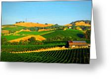 The Los Carneros District Greeting Card
