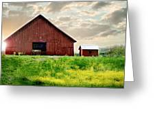 The Lost Barn Greeting Card