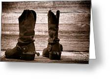 The Lost Boots Greeting Card