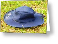 The Lost Hat Greeting Card