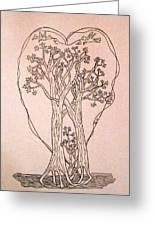 The Love And Celebration Of The Maple Tree Family Greeting Card