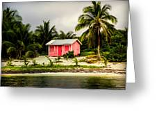 The Love Shack Greeting Card