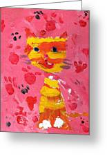 The Lucky Cat Greeting Card