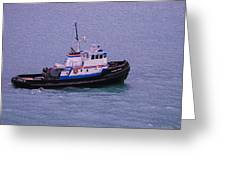 The Lunch Bucket Boat Greeting Card