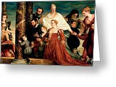 The Madonna Of The Cuccina Family Greeting Card