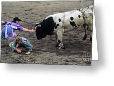 Rodeo The Magic Touch Greeting Card