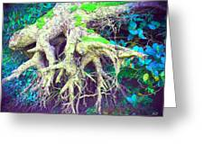 The Magical Hobbit Tree Greeting Card