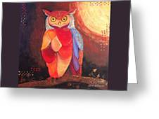 The Magical Mystical Owl Greeting Card
