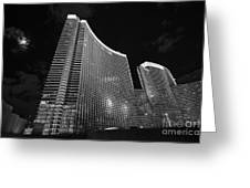 The Magnificent Aria Resort And Casino At Citycenter In Las Vegas Greeting Card