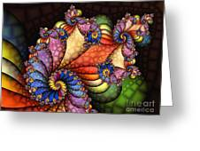 The Maharajahs New Hat-fractal Art Greeting Card